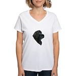 A Gorgeous Newfoundland Women's V-Neck T-Shirt