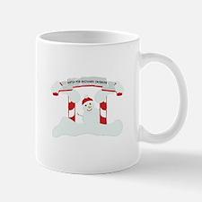 Snowmen Crossing Mugs