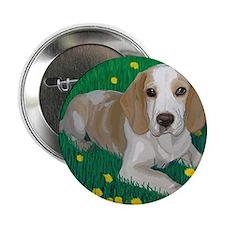 """Unique Pup 2.25"""" Button"""
