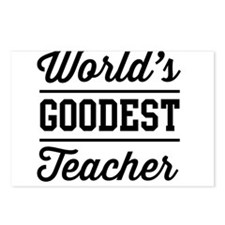 World's goodest teacher Postcards (Package of 8)
