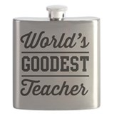 Elementary school teacher Flask Bottles