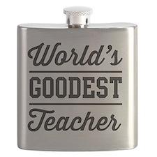 World's goodest teacher Flask