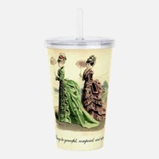 Be Refined: Victorian Acrylic Double-wall Tumbler
