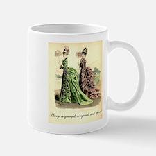 Be Refined: Victorian Etiquette Small Small Mug