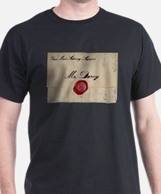 Mr Darcy Love Letter T-Shirt