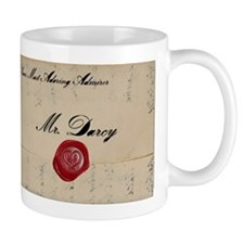 Mr Darcy Love Letter Mug