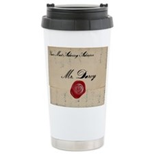 Mr Darcy Love Letter Travel Mug