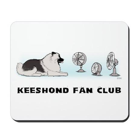 Keeshond Fan Club Mousepad
