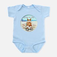 Corgi Beach Body Suit
