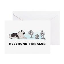 Keeshond Fan Club Greeting Cards (Pk of 10)
