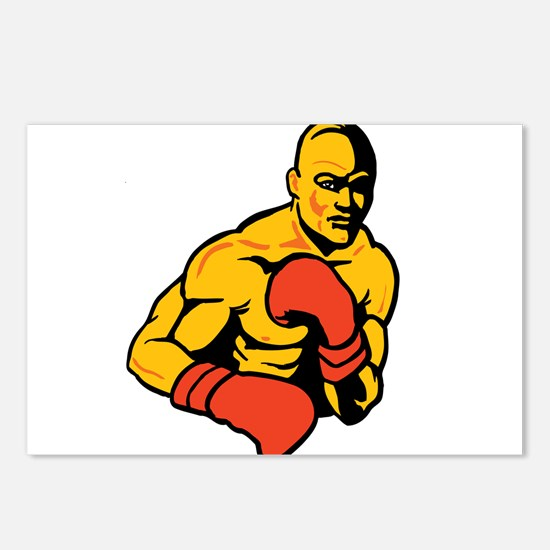 Boxing Postcards (Package of 8)