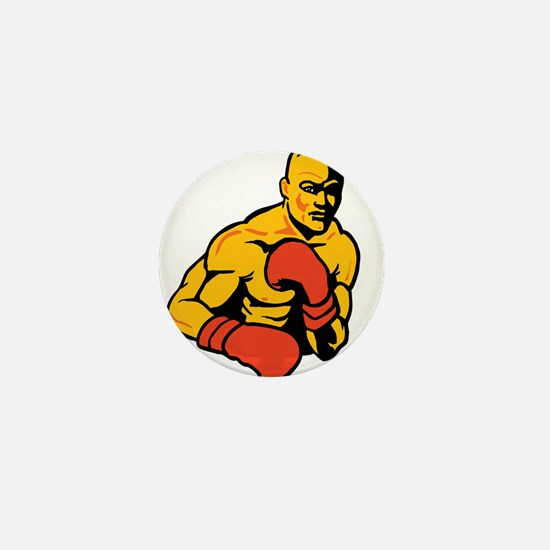 Boxing Mini Button
