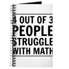 4 out of 3 struggle with math Journal