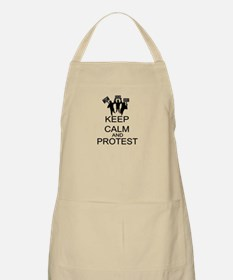 Keep Calm And Protest Apron