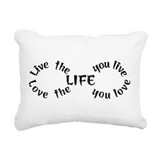 Infinity symbol Rectangular Canvas Pillow