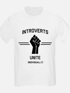 Introverts Unite Individually T-Shirt