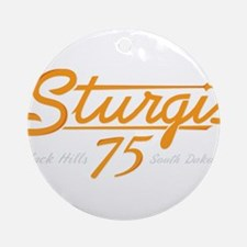 Sturgis 75th Ornament (Round)
