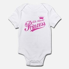 Cook Islander Princess Infant Bodysuit