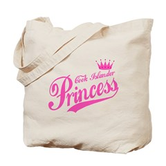 Cook Islander Princess Tote Bag