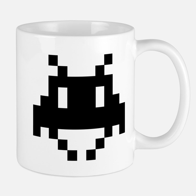 Space Invader Coffee Mugs Space Invader Travel Mugs