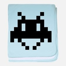 8-bit alien baby blanket