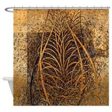 Unique Autumn leaves Shower Curtain