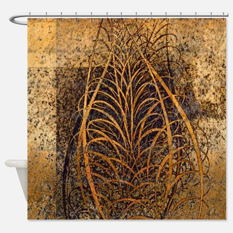 ... Leaves Shower Curtains | Autumn Leaves Fabric Shower Curtain Liner
