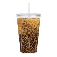 Unique Leafs Acrylic Double-wall Tumbler