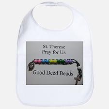 St. Therese Good Deed Beads Bib