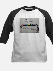 St. Therese Good Deed Beads Baseball Jersey
