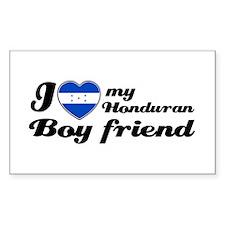 Honduran Boy friend Rectangle Decal