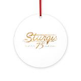 Sturgis Round Ornaments