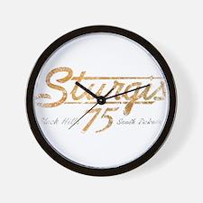 Sturgis 75th Anniversary Wall Clock