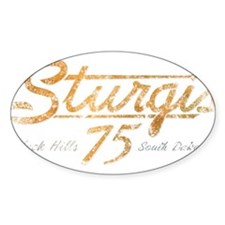 Sturgis 75th Anniversary Decal