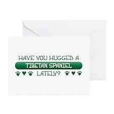 Hugged Tibbie Greeting Cards (Pk of 10)