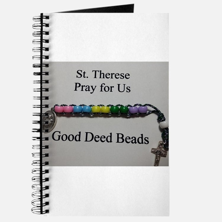 St. Therese Good Deed Beads Journal