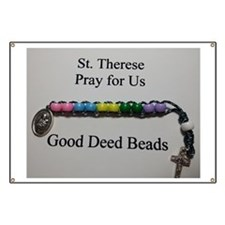 St. Therese Good Deed Beads Banner