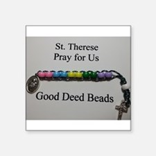 St. Therese Good Deed Beads Sticker