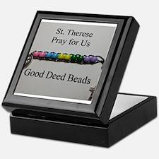 St. Therese Good Deed Beads Keepsake Box
