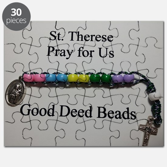 St. Therese Good Deed Beads Puzzle