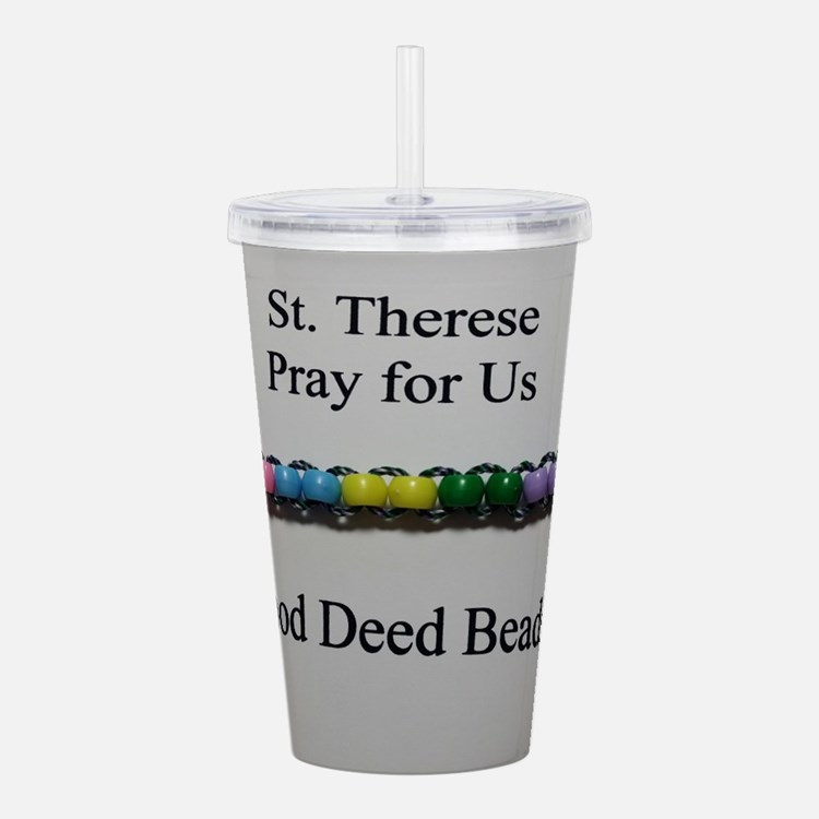 St. Therese Good Deed Beads Acrylic Double-wall Tu