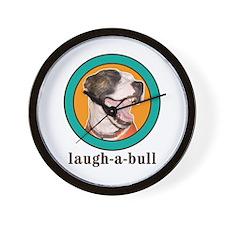 Laugh-a-Bull Wall Clock