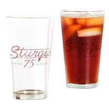 Sturgis 75th Anniversary Drinking Glass