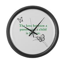 Bereaved Parent Awareness Month Large Wall Clock