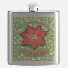 Unique Christmas mimi Flask