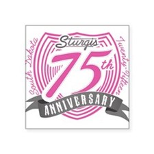 Sturgis 75th Anniversary Sticker