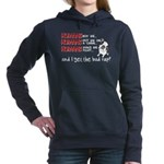 Humans Are to Blame Women's Hooded Sweatshirt