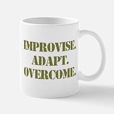 improvise adapt Mug