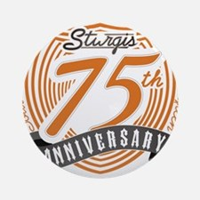 Sturgis 75th Anniversary Ornament (Round)