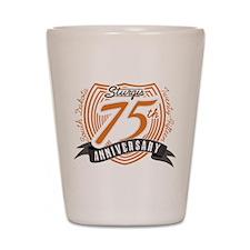 Sturgis 75th Anniversary Shot Glass